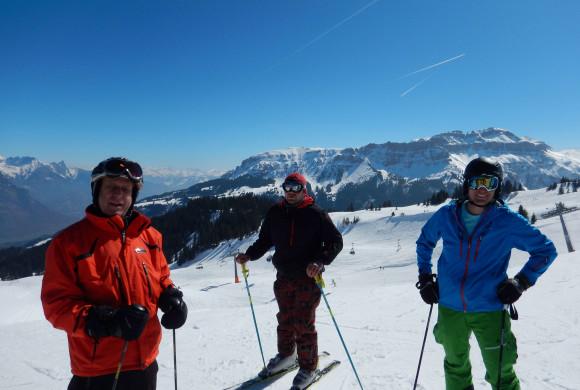 Wenn Musikanten Ski fahren, dann…